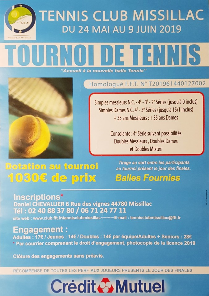 Tournoi de Missillac 2019